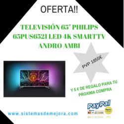 TV 65 PULGADAS PHILIPS