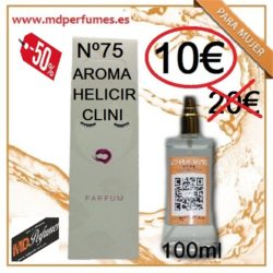PERFUME MUJER EQUIVALENTE AROMA HELICIR CLINI Nº75