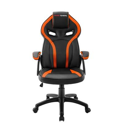 MARS GAMING SILLA MGC118, NEG/NARANJA GAS-LIFT CL4