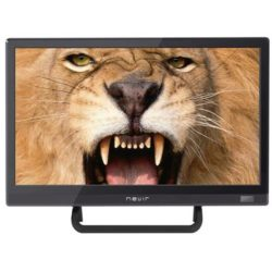 "TV 16"" LED HD USB DVR 12V HDMI NEGRA"