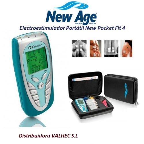 ELECTROESTIMULADOR PORTÁTIL NEW POCKET FIT 4