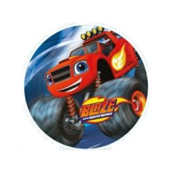 PLATOS DE CUMPLE DE BLAZE Y LOS MONSTER MACHINES