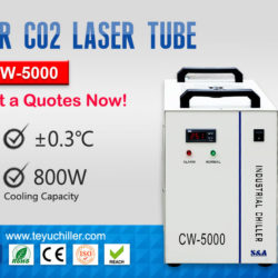 CW-5000co2 chiller
