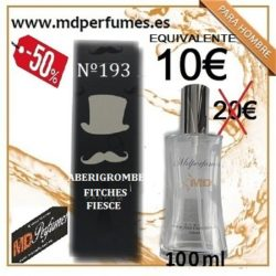 PERFUMES PARA HOMBRES Nº 193 ABERIGROMBE FITCHES FIESCE  de alta gama marca blanca equivalente WWW.MDPERFUMES.ES 2