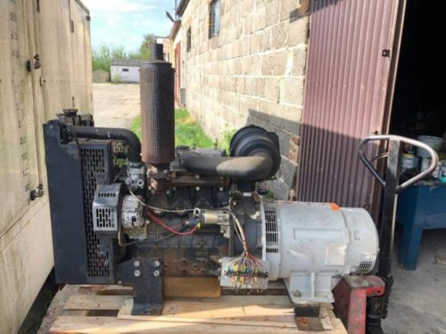 MOTOR PERKINS 4 CYLINDROWY 38H