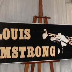 Cartel Louis Armstrong 1-1